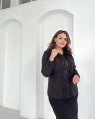 Блуза Лале черный 018_290228