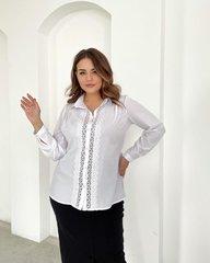 Блуза Лале белый 018_290201