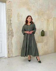 Платье Шарм хаки 018_290193