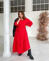 Платье Шарм красный 018_290108