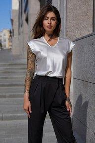 Блуза Маер М21 белый 012