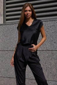 Блуза Маер М21 черный 012