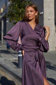 Платье Эла М21 черника 012
