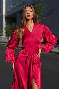 Платье Эла М21 красный 012