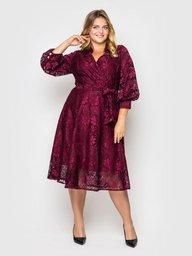 Нарядное платье Рина фуксия 133701