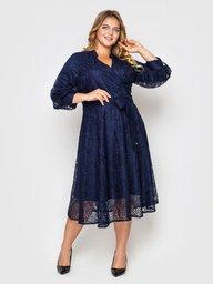 Нарядное платье Рина синее 133703
