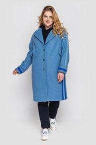 Пальто Эжен голубое 132601