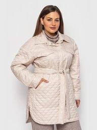 Стеганная куртка-рубашка Гвинет