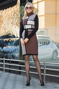 Платье Кубики