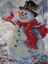Картина Снеговик