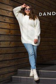 Купить вязаную тунику большого размера