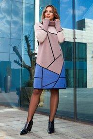 Купить вязаное платье большого размера