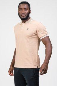 Мужская футболка, бежевая