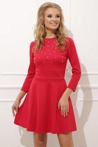 Платье 020 красное