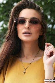 Солнцезащитные очки с двухцветными линзами 1376.4154