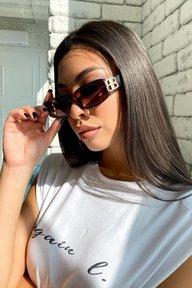 Солнцезащитные очки прямоугольной формы 1716.4567